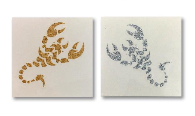 Gold Silber Tattoo