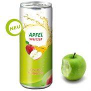 Apfel Spritzig – in der pfandfreien Dose