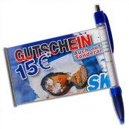 Banner-Kugelschreiber / Spicker Stift