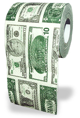 Toilettenpapier klopapier bedruckt