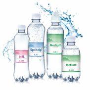 Werbewasser / Mineralwasser