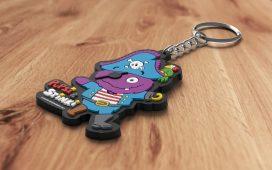 Weichgummi-Schlüsselanhänger