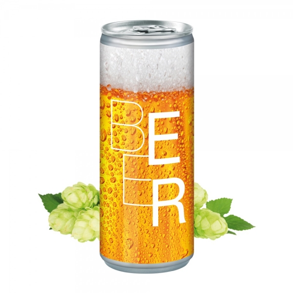 Bier Dose 250 ml