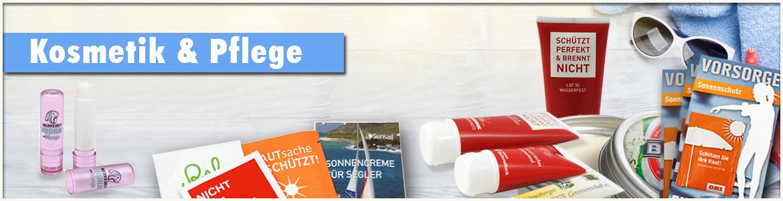 Banner Werbeartikel Pflege Kosmetik