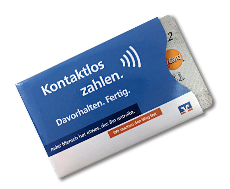 RFID Karten Schutzhülle