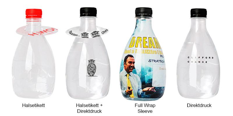 555 ml design flaschen mit druck