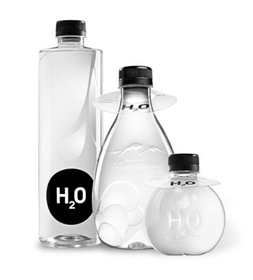 Wasserflaschen werbe wasser