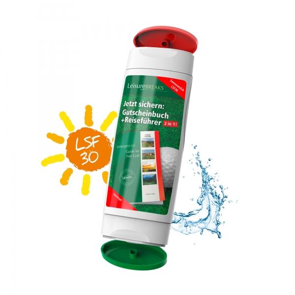 2x 50ml Duo-Pack Kombination Sonnencreme Dushgel