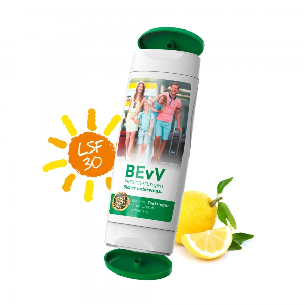 2x 50 ml Duo Pack Kombination Sonnencreme Hand Reinigungs Crme