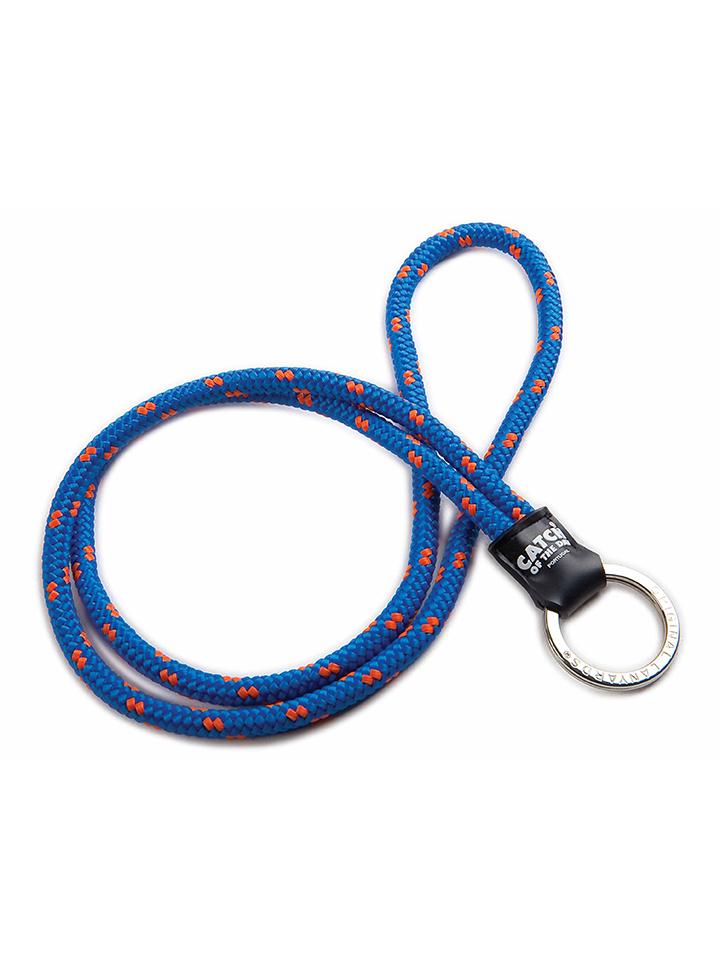 Yacht Schlüsselband Blau Orange