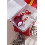 Robuste Erste Hilfe Box mit Inhalt
