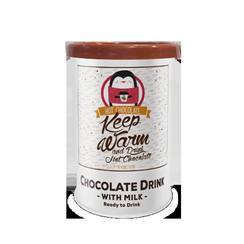 Selbsterhitzende Schokolade